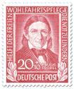 Stamp: Pädagoge Friedrich Fröbel (Pädagoge)