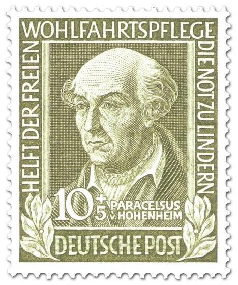 Stamp: Paracelsus von Hohenheim (Wohlfahrtsmarke)