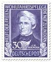 Stamp: Theologe Johann Hinrich Wichern (Theologe)