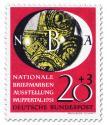 Stamp: Nationale Briefmarkenausstellung in Wuppertal (20+3)