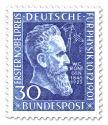 Stamp: Wilhelm Conrad Röntgen (50. Jahrestag Nobelpreis)