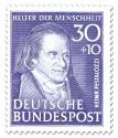 Stamp: Johann Heinrich Pestalozzi (Pädagoge)