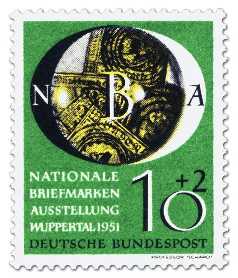 Stamp: Nationale Briefmarkenausstellung in Wuppertal (10+2)