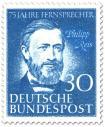Stamp: Philipp Reis (Erfinder des Telefons)