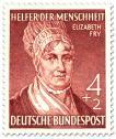 Stamp: Elizabeth Fry (Gefängnis Reformerin)