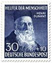 Stamp: Henri Dunant (Gründer vom Roten Kreuz)