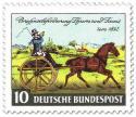 Stamp: Kutsche zur Briefpost-Beförderung (Thurn und Taxis)