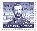 Stamp: Nikolaus Otto - Erfinder des Ottomotors