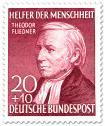 Stamp: Theodor Fliedner (Pfarrer) - Erneuerer der Diakonie