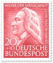 Stamp: Johann Christian Senckenberg (Arzt)