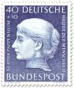 Stamp: Bertha Pappenheim (Frauenrechtlerin)