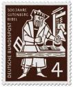 Stamp: Gutenberg Bibel (Buchdruck)