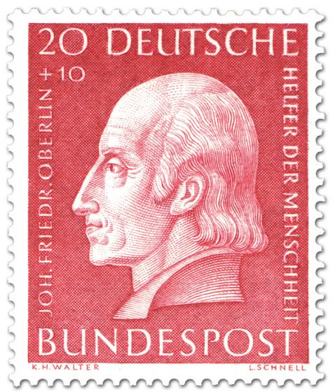 Stamp: Johann Friedrich Oberlin (Pfarrer)