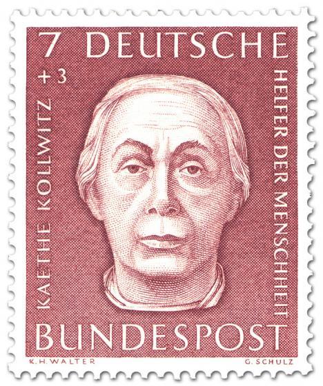 Stamp: Käthe Kollwitz (Künstlerin Grafikerin)