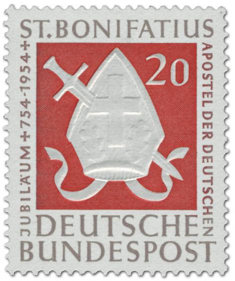 Stamp: St. Bonifatius (Apostel der Deutschen)