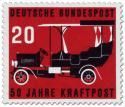 Stamp: 50 Jahre Kraftpost, Oldtimer