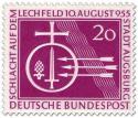 Stamp: Augsburg - Schlacht auf dem Lechfeld