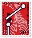 Stamp: Eisenbahnsignal Schienen (Fahrplankonferenz in Wiesbaden)