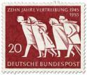 Stamp: Heimatvertriebene (10 Jahre Vertreibung)