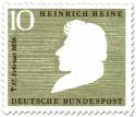 Stamp: Heinrich Heine (Dichter)