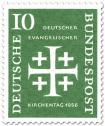Stamp: Jerusalemkreuz (Deutscher ev. Kirchentag, 10)