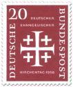 Stamp: Jerusalemkreuz (Deutscher ev. Kirchentag, 20)