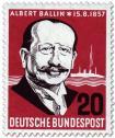 Stamp: Albert Ballin (Reeder)