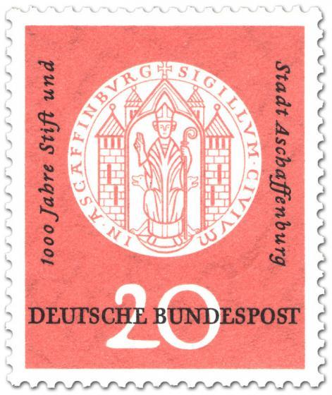 Stamp: Siegel von Aschaffenburg