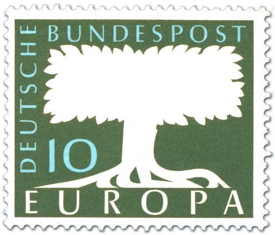 Stamp: Europamarke Baum (10)