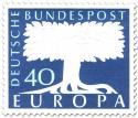 Stamp: Europamarke Baum (40)