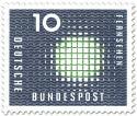 Stamp: Fernsehen: Bild-Flimmern