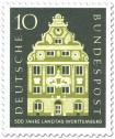 Stamp: Landschaftshaus Stuttgart (Baden Württemberg)