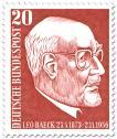 Stamp: Leo Beack (Rabbiner)