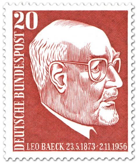 Stamp: Leo Beack (Rabbiner)