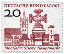 Stamp: Marktplatz 1000 Jahre Trier