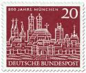 Stamp: 800 Jahre München