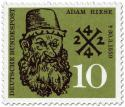 Stamp: Adam Riese (Mathematiker, Rechenmeister)