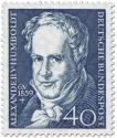 Stamp: Alexander von Humboldt (Naturforscher, Geograph)