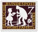 Stamp: Sterntaler: Mädchen und alter Mann (Grimms Märchen)