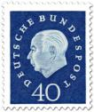 Stamp: Theodor Heuss (40)