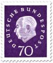 Stamp: Theodor Heuss (70)