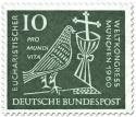 Stamp: Eucharistischer Weltkongress München (Taube, Kelch und Kreuz) 10