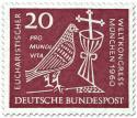 Stamp: Eucharistischer Weltkongress München (Taube, Kelch und Kreuz) 40