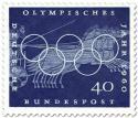 Stamp: Wagenrennen mit Vierspanner (Olympisches Jahr 1960)