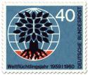 Stamp: Weltflüchtlingstag (Baum, Weltkugel) 40
