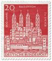 Stamp: 900 Jahre Kaiserdom zu Speyer