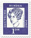 Stamp: Annette von Droste Hülshoff (Dichterin)
