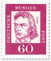 Stamp: Friedrich Schiller (Dichter, Dramatiker)