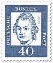 Stamp: Gotthold Ephraim Lessing (Dichter)