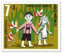 Stamp: Hänsel und Gretel: Brotkrümel für die Vögel